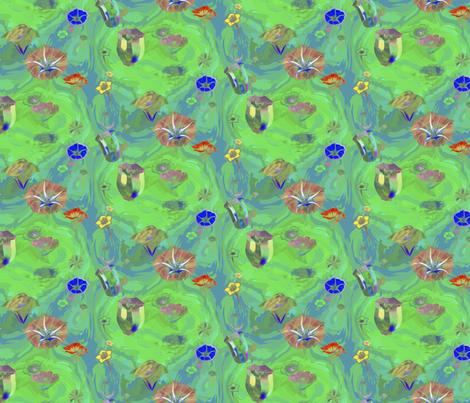 Trippy nightshades fabric by nlsd on Spoonflower - custom fabric