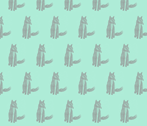 fox fabric by ajoyfulriot on Spoonflower - custom fabric