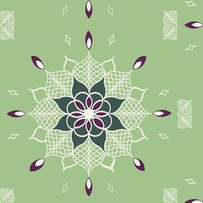 Mandalas and Lace