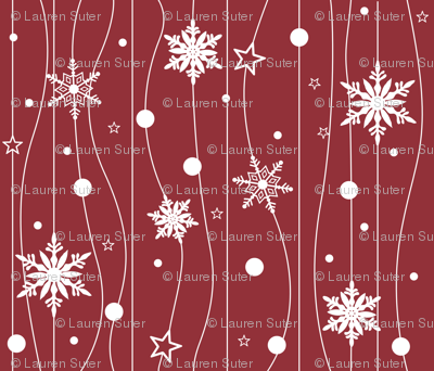 Snowflake Trails-ed