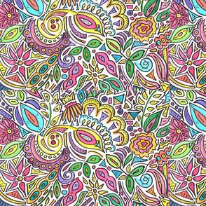 Vibrant Doodle