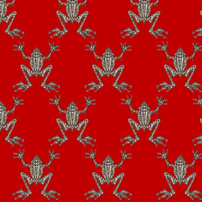Fabulous Frogs - Bold Red