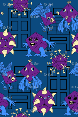 02891379 : bedtime monsters