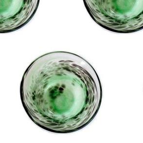 Glass bowl spots