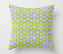 Pastel Green-Purple Freeman Lattice