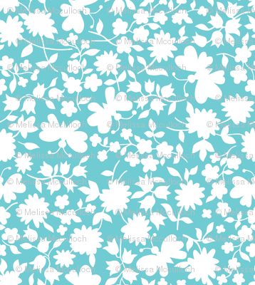 simple butterfly floral