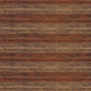 Grass Mat - variegated walnut and rosewood horizontal stripe