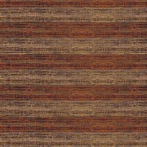 Grass Mat - variegated walnut and rosewood horizontal stripe