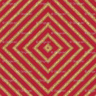 Geranium Red Diamonds © Gingezel™