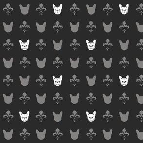 French Bulldog Fleur - Charcoal