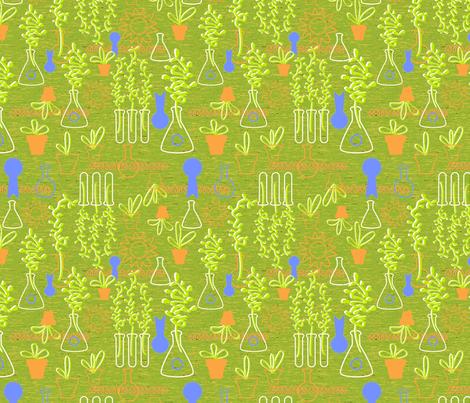 Science Fair Blue Ribbon fabric by vinpauld on Spoonflower - custom fabric