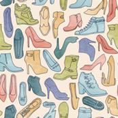 Digging Through a Closet of Shoes