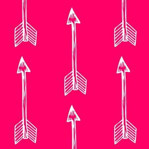 Shooting Arrows Fuchsia
