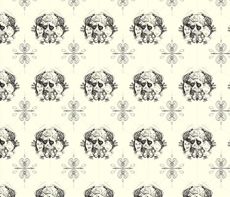 Meme leaders fabric by little_emmerton on Spoonflower - custom fabric