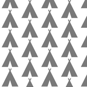Teepees Gray