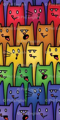 Rainbow Kitty Cat