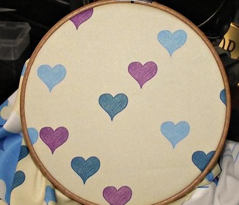 Bedtime Hearts on Cream