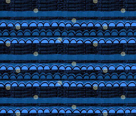 night_sky fabric by ottomanbrim on Spoonflower - custom fabric