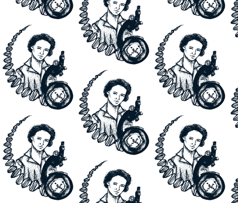 The Scientist fabric by art_rat on Spoonflower - custom fabric