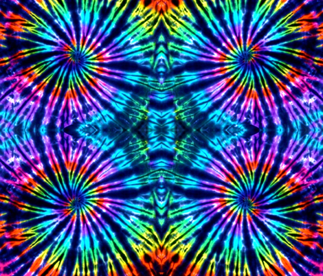 Tie dye perfection-1 fabric by phatcatpatch on Spoonflower - custom fabric