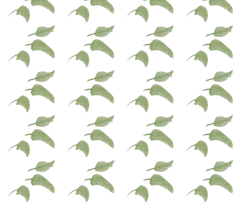 Just Leaves fabric by suechisholm on Spoonflower - custom fabric
