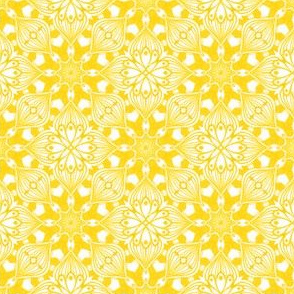 Kaleidoscopic Onion - Yellow
