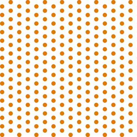 OrangePolka fabric by mrshervi on Spoonflower - custom fabric