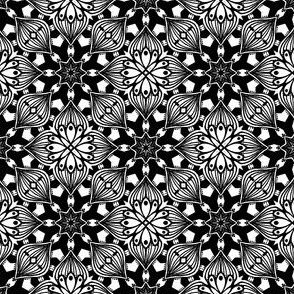 Kaleidoscopic Onion - Black