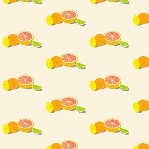Smiling citrus group