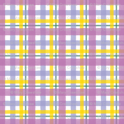 Plaid Orchid Summer