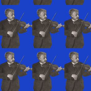 Einstein Playing the violin