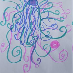 Curlycue Jellyfish