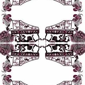 Mozart's Flirtation-fuschia