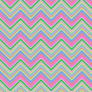 Spring Stripe Chevron- large