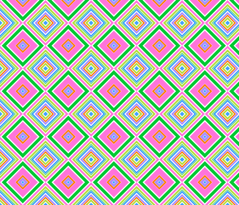 Spring Stripe Tile- large fabric by shala on Spoonflower - custom fabric