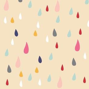 Colorful Raindrops