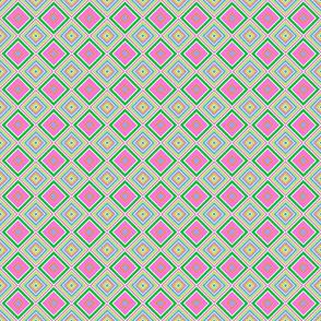 Spring Stripe Tile- small