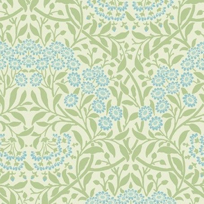 William Morris Woodblock Wallpaper