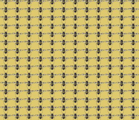 Bees for Galen fabric by dawnamagliacano on Spoonflower - custom fabric