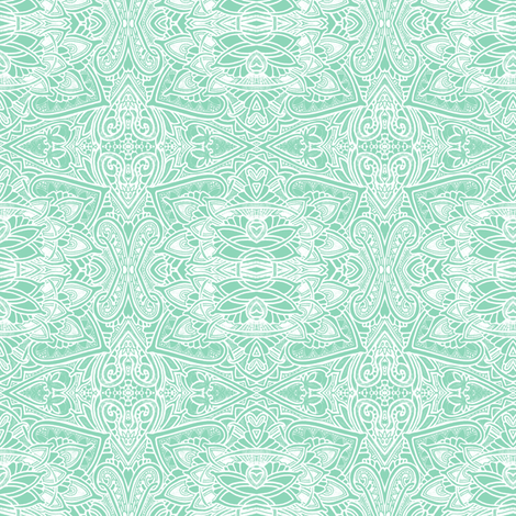 Silent Snow, Secret Snow fabric by edsel2084 on Spoonflower - custom fabric