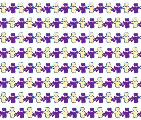 Teddy_family2 fabric by ruthjohanna on Spoonflower - custom fabric