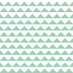 Mint Moroccan Triangles