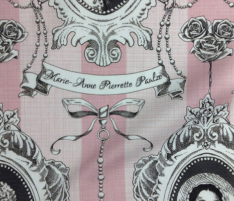 Toile de Jouy - Science Women Pink