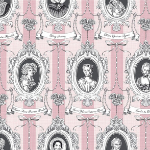 Toile de Jouy - Science Women Pink