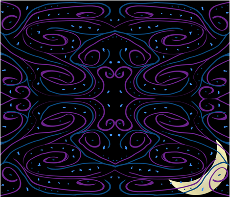 Bedtime fabric by snarks on Spoonflower - custom fabric