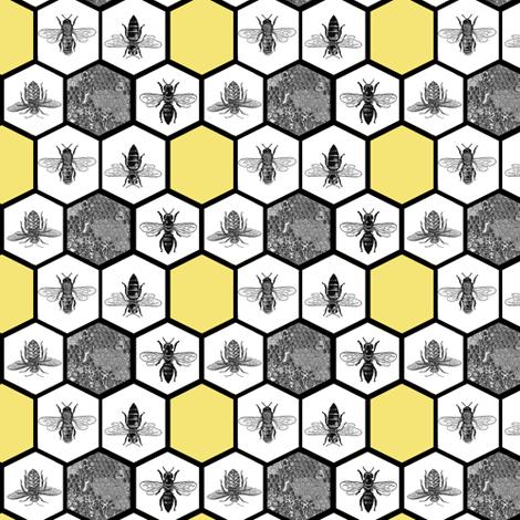 Wallpaper yellow honeycomb hexagon beehive red #ecdb68 # ... |Yellow Honeycomb Wallpaper