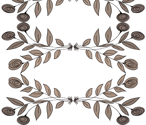 Modern Flair Floral fabric by suechisholm on Spoonflower - custom fabric