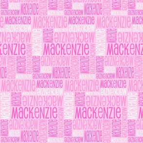 Personalised Name Design - Pink Pink Pink