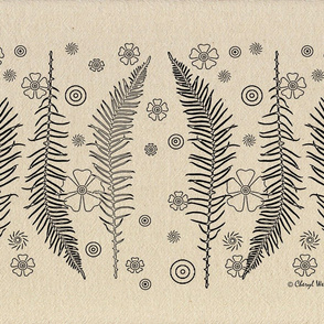 Whimsical Forest Ferns