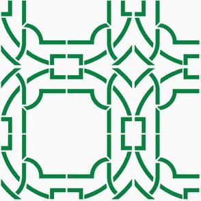 Bamboo Trellis Revised-Green